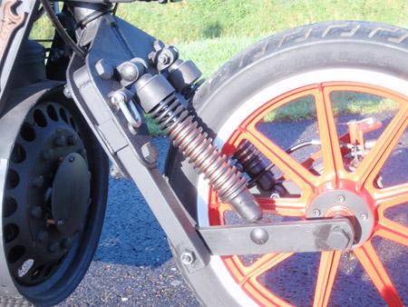 Steam Engine Motorcycle 4