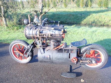 Steam Engine Motorcycle 1