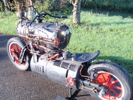 Steam Engine Motorcycle 6