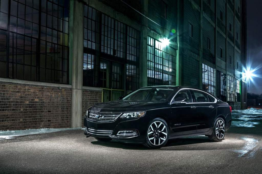 Chevy Impala Midnight Edition Front 3/4