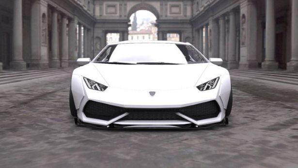 Lamborghini Huracan Body Kit 4