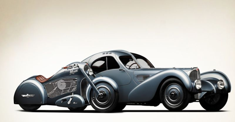 Harley Bugatti Motorcycle 3