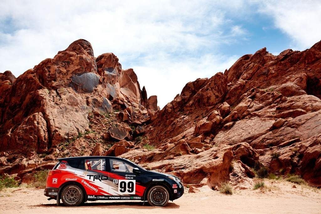 Rally RAV4 Side view