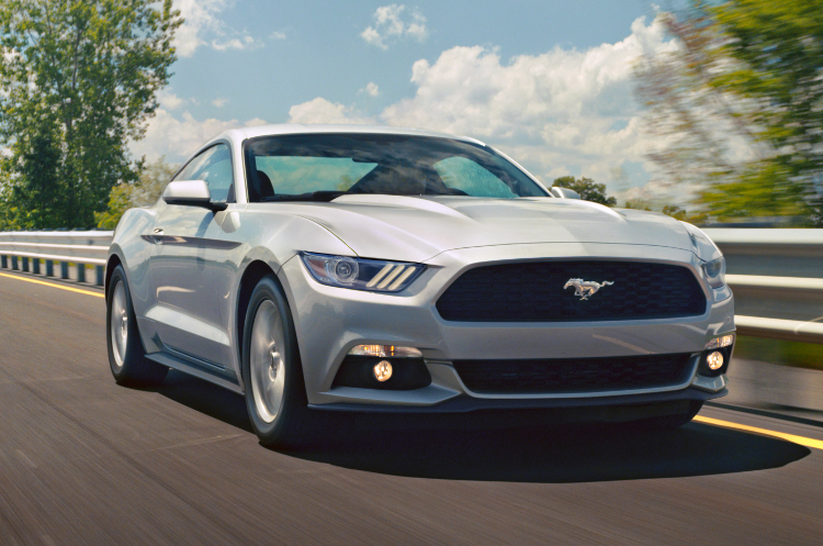 Best Sports Cars 2015 -  Ford Mustang with EcoBoost