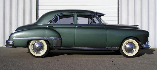 1949-oldsmobile-futuramic-88-ps - 4 Door Muscle Cars