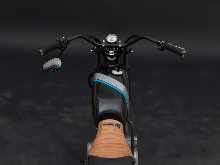 Yamaha SR250 Tracker 3