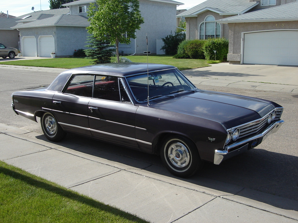 Chevrolet Chevelle - 4 Door Muscle Cars