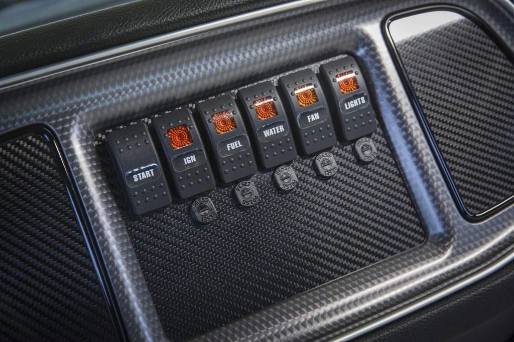 Challenger Drag Pak Interior Switches