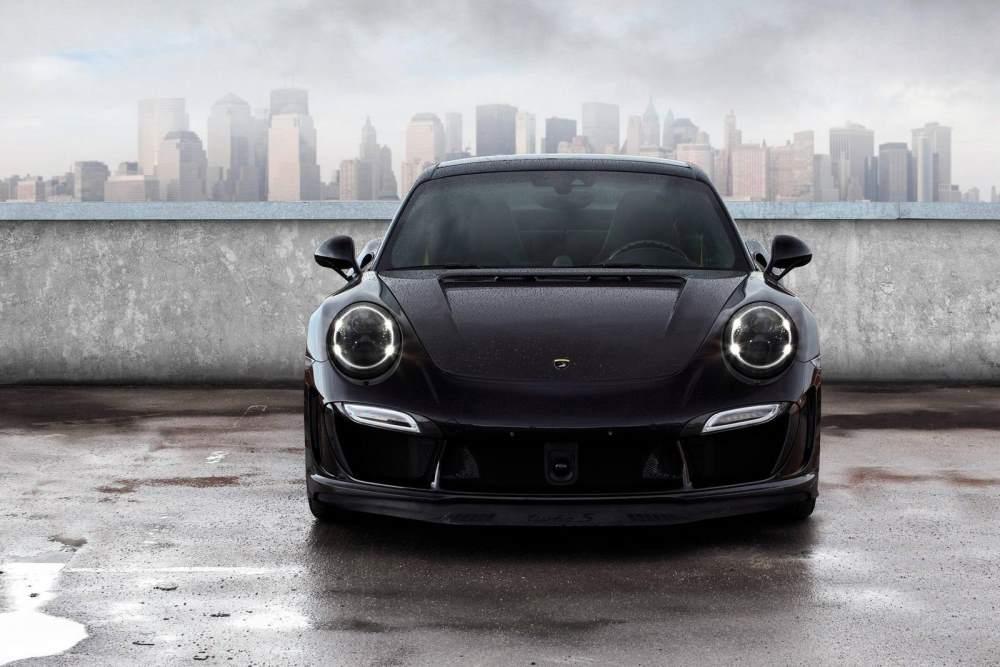 Porsche 911 Stinger GTR Front TopCar