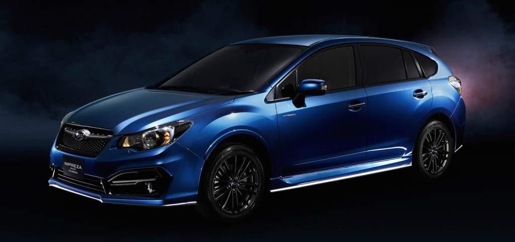 Subaru Impreza Hybrid Front 3/4