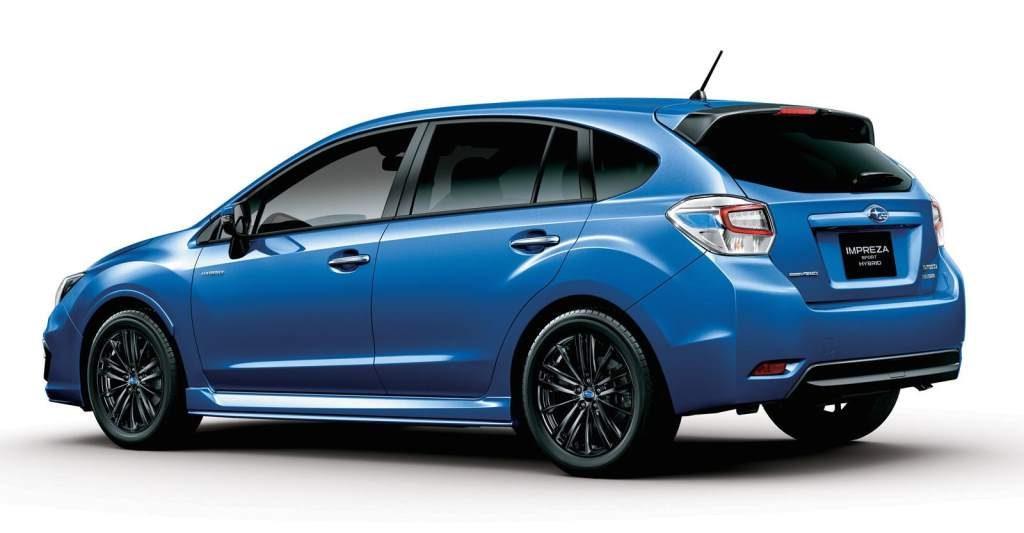 Subaru Impreza Hybrid Rear 3/4