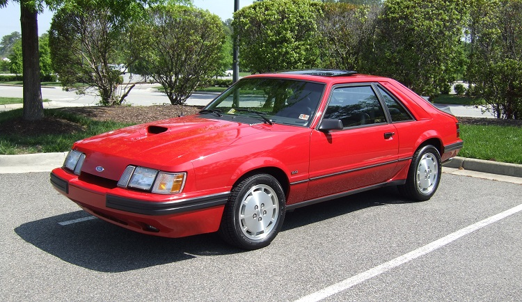 1980s Cars - Ford Mustang SVO