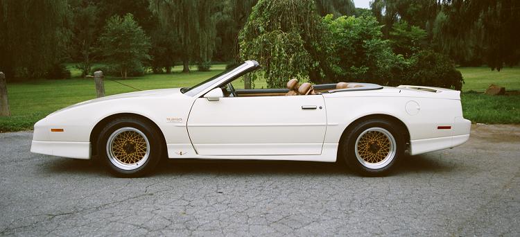 1980s Cars - 1989 20th Anniversary Trans Am