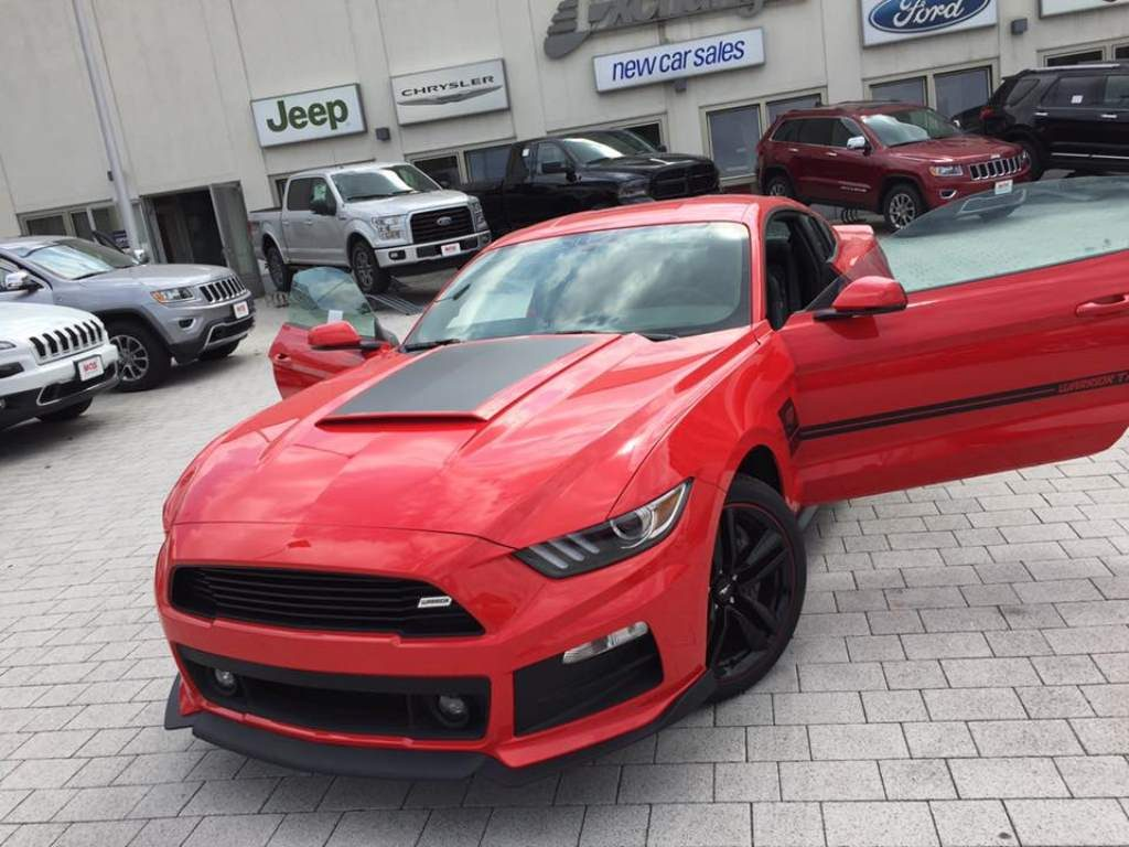 Roush Warrior Mustang Front 3/4