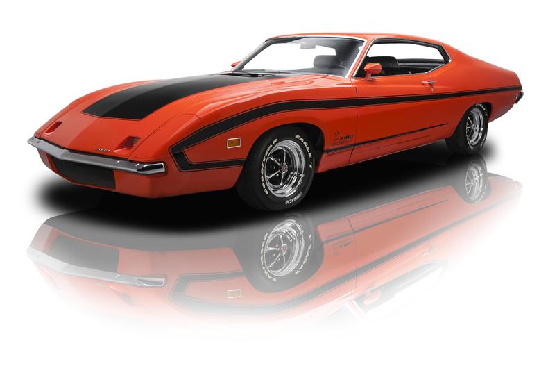 Rare American Cars - Ford Torino King Cobra