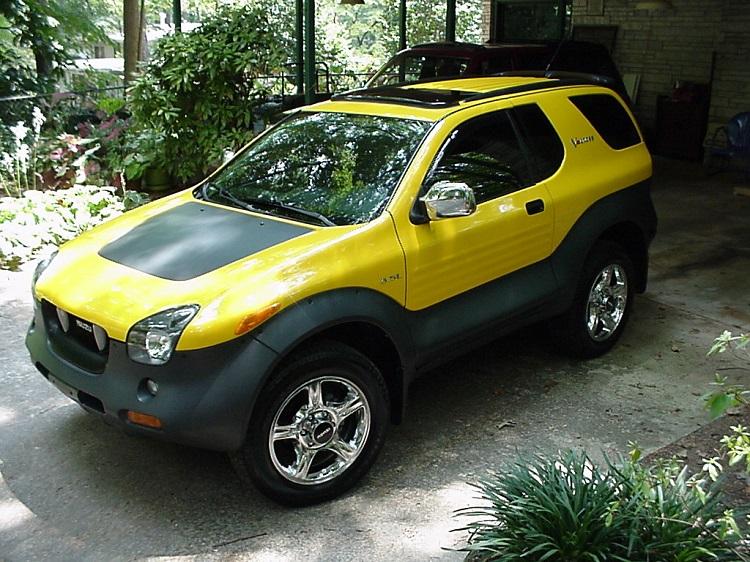 Ugliest Car In The World - Isuzu VehiCROSS