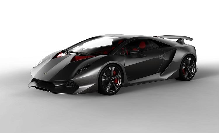 Unknown Cars - Lamborghini Sesto Elemento