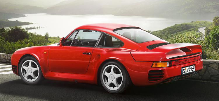 1980s Cars - Porsche 959