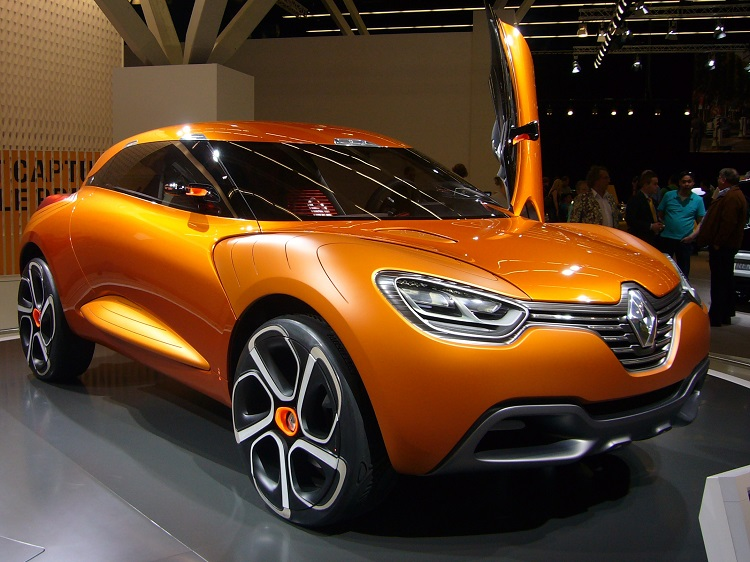 Renault Captur Concept Photo by: Overlaet
