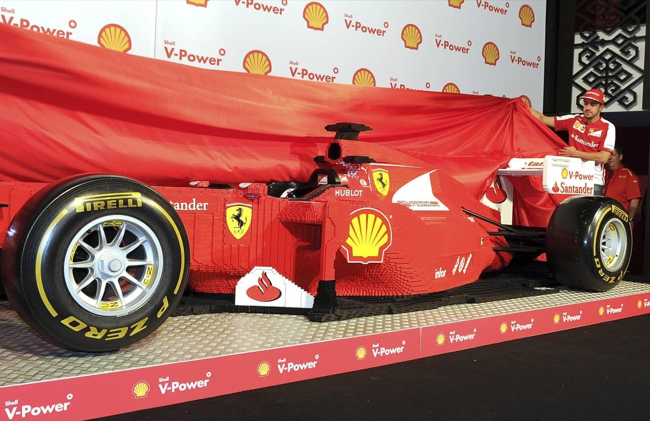 Life Size Lego Car - Ferrari F1