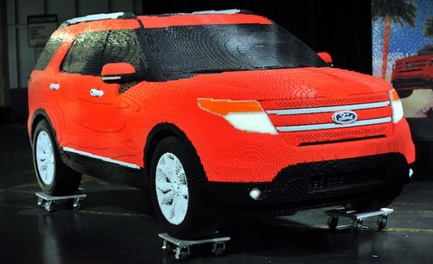 Real Lego Car - Ford