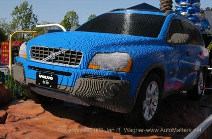 Life Size Lego Car - Volvo XC90