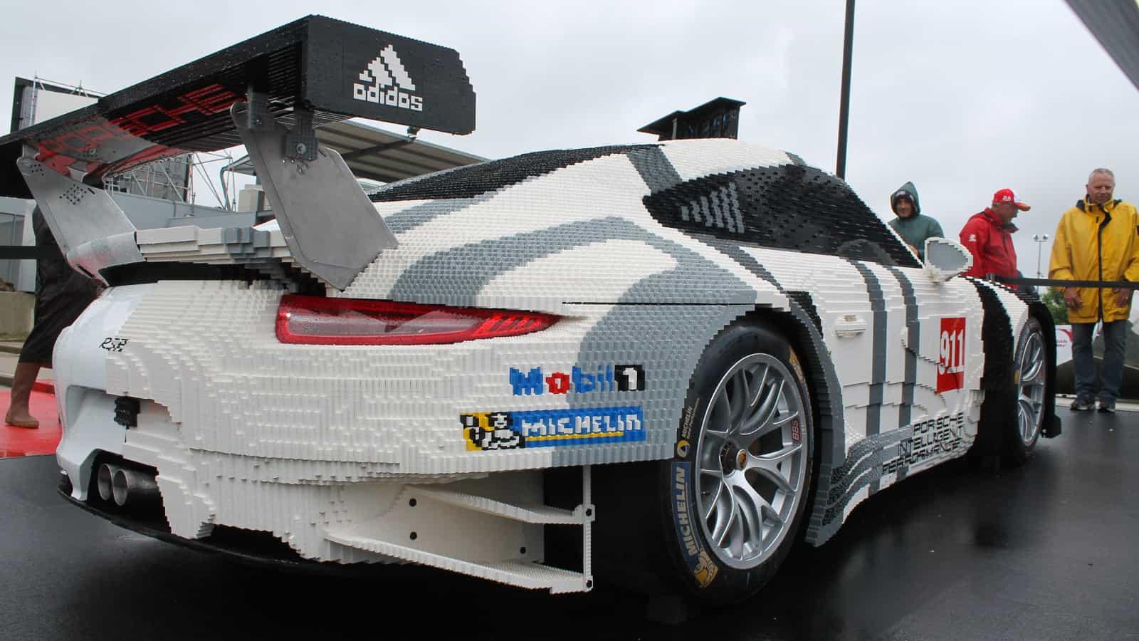 Life Size Lego Car - Porsche 1