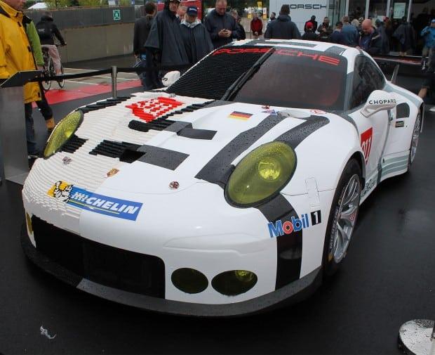 Life Size Lego Car - Porsche 2