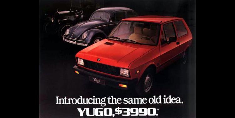 Ugliest Car In The World - Yugo GV