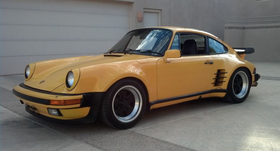 Fastest Cars Of The 80s - 1986 Porsche 911 Turbo