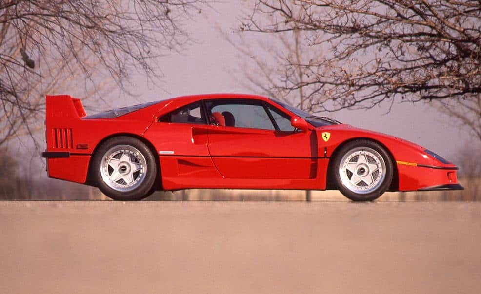 Fastest Cars Of The 80s - Ferrari F40 Supercar