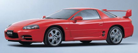 Fastest Japanese Cars Of The 90s - Mitsubishi 3000GT