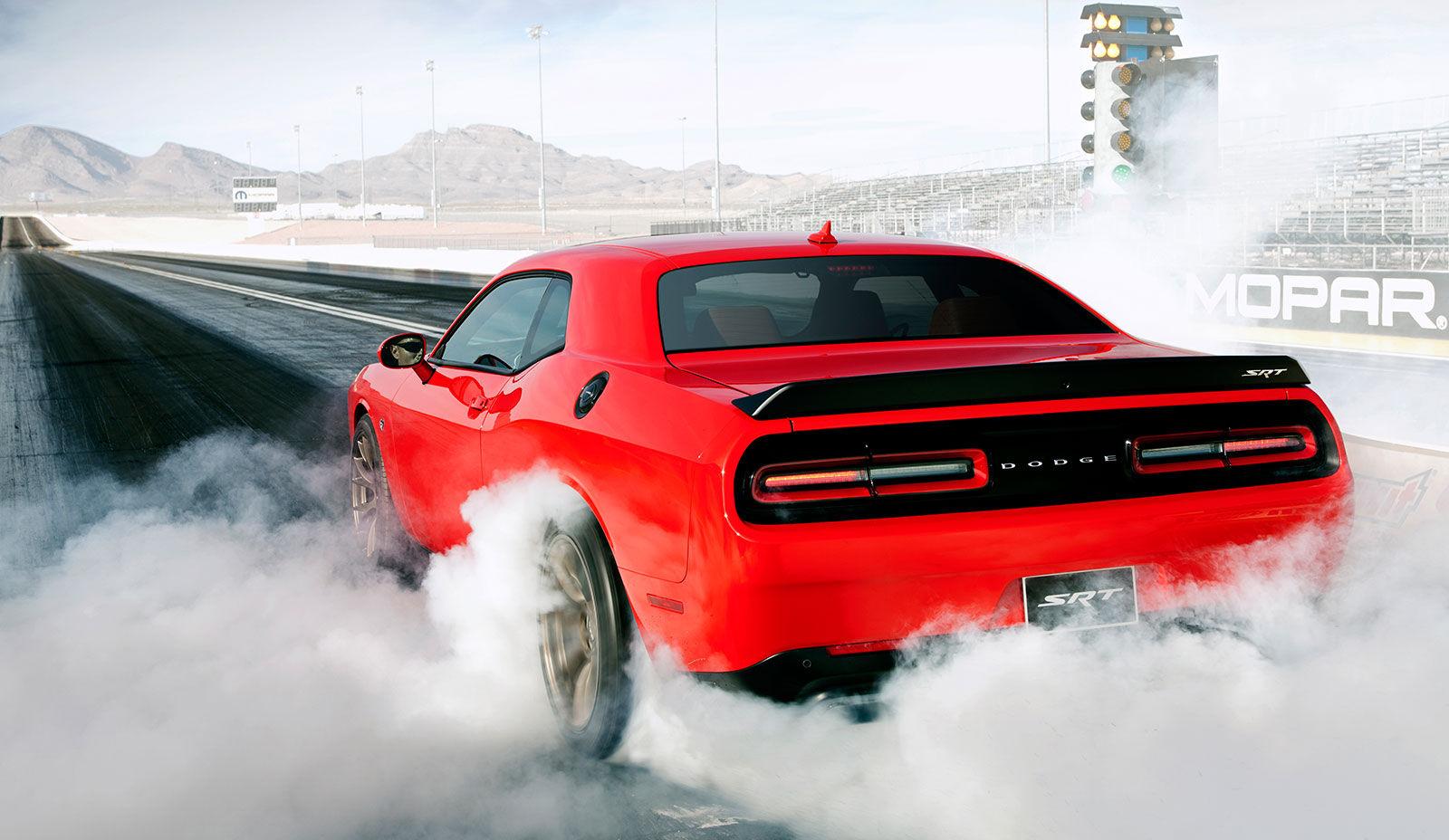 Best V8 Sedans And Coupes - Dodge Challenger SRT Hellcat