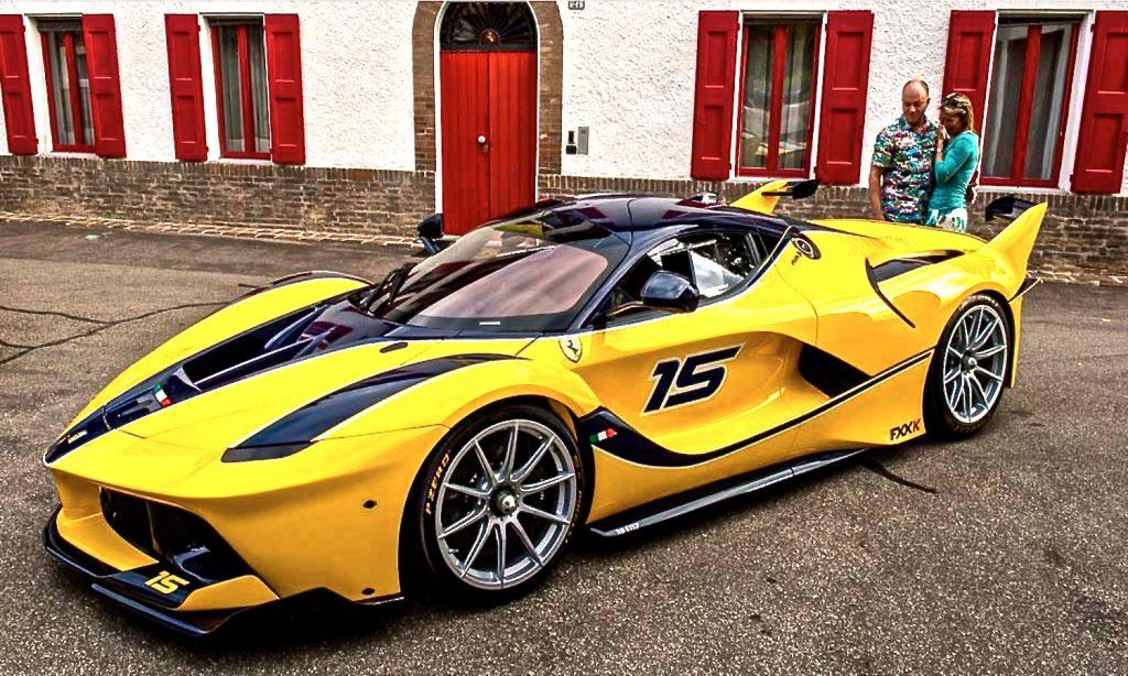 Ferrari FXXK Wife Present Google VP WTF Gearheads