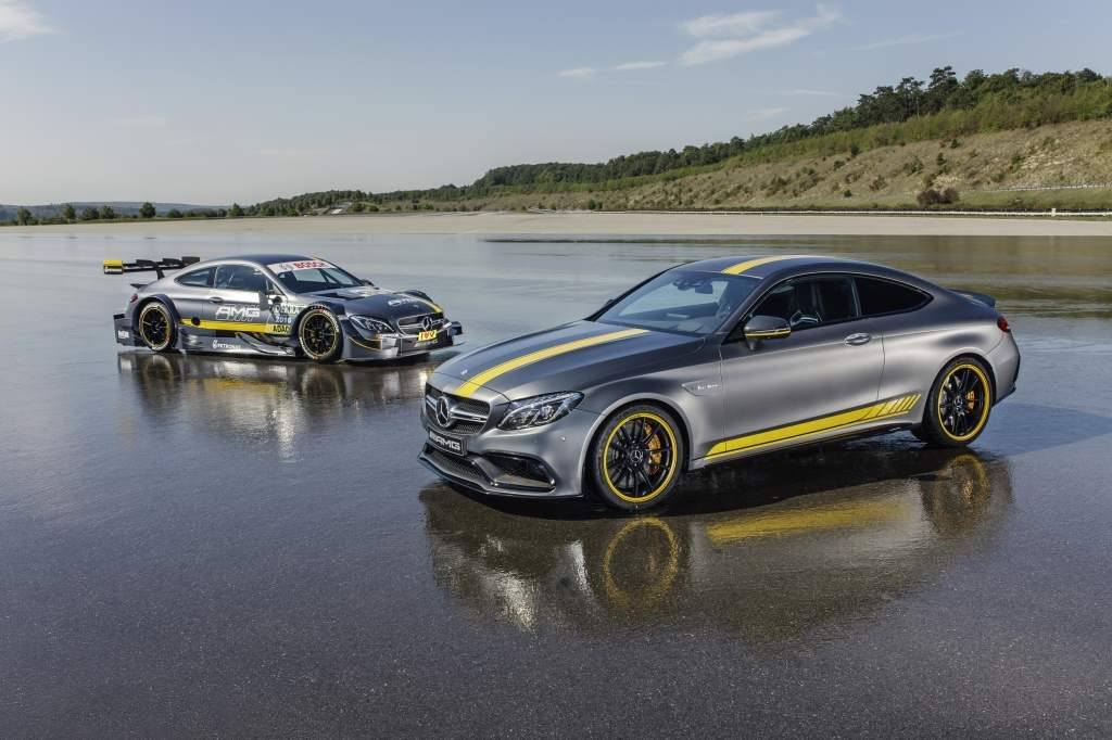 Mercedes C63 AMG Edition 1 Coupe Side by Side