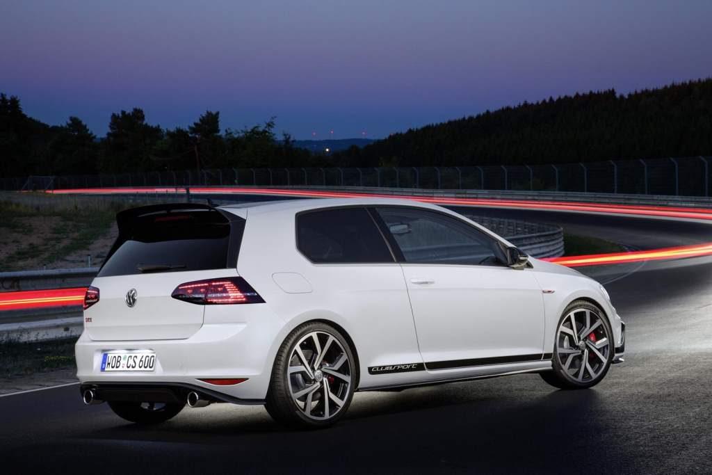 Volkswagen Golf Clubsport GTi Rear 3/4