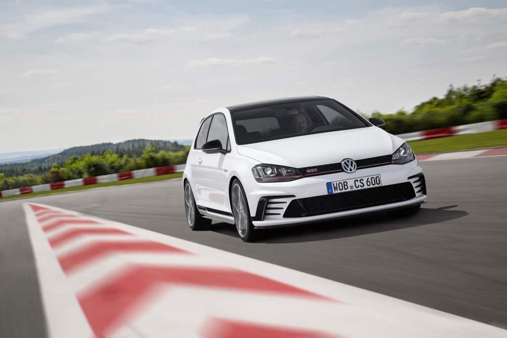 Volkswagen Golf GTi Clubsport Front 3/4