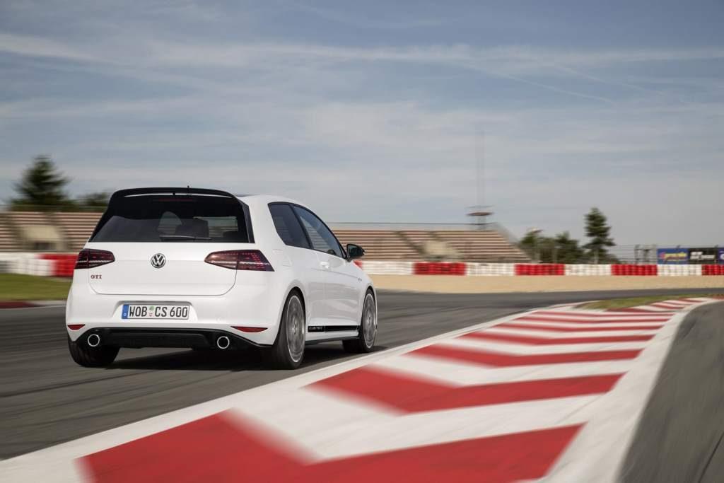 Most powerful VW Golf GTi Clubsport Rear 3/4