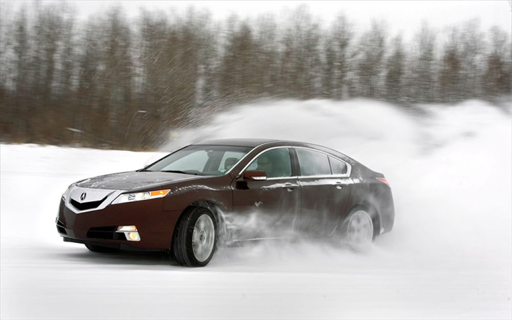Best Used Cars For Snow - Acura
