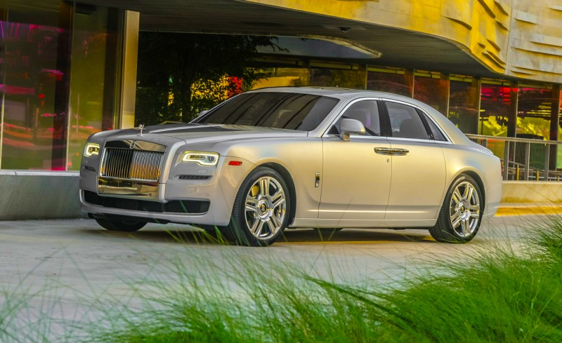 Most Expensive New Cars - Rolls Royce Ghost