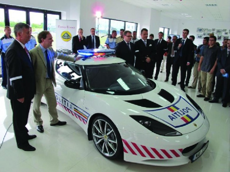 Romanian Police two year loan Evora