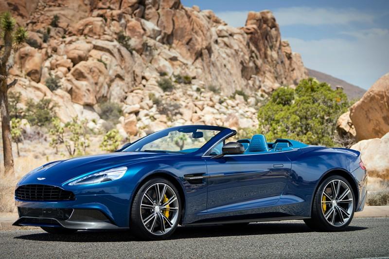 Most Expensive New Cars - Aston Martin Vanquish Volante