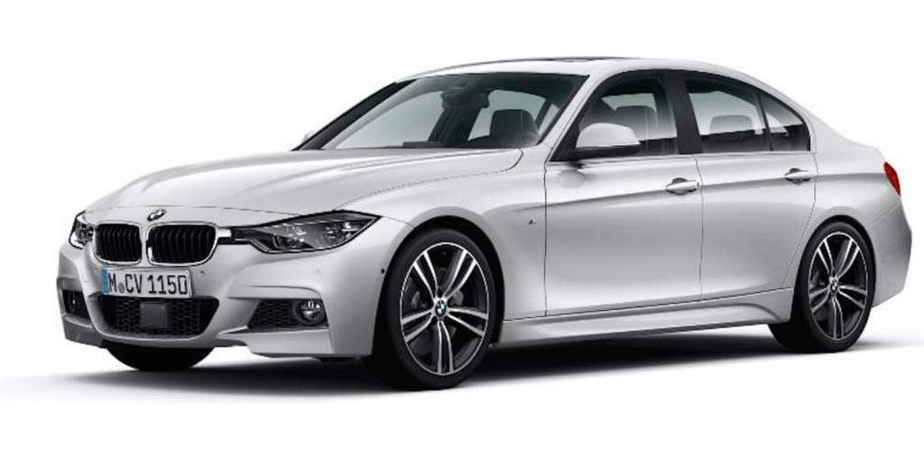 bmw 3 series 40 year limited edition front 3/4