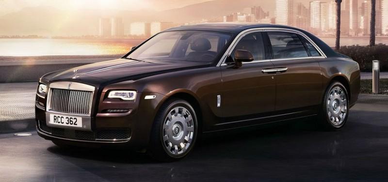 Most Expensive New Cars - Rolls Royce Phantom