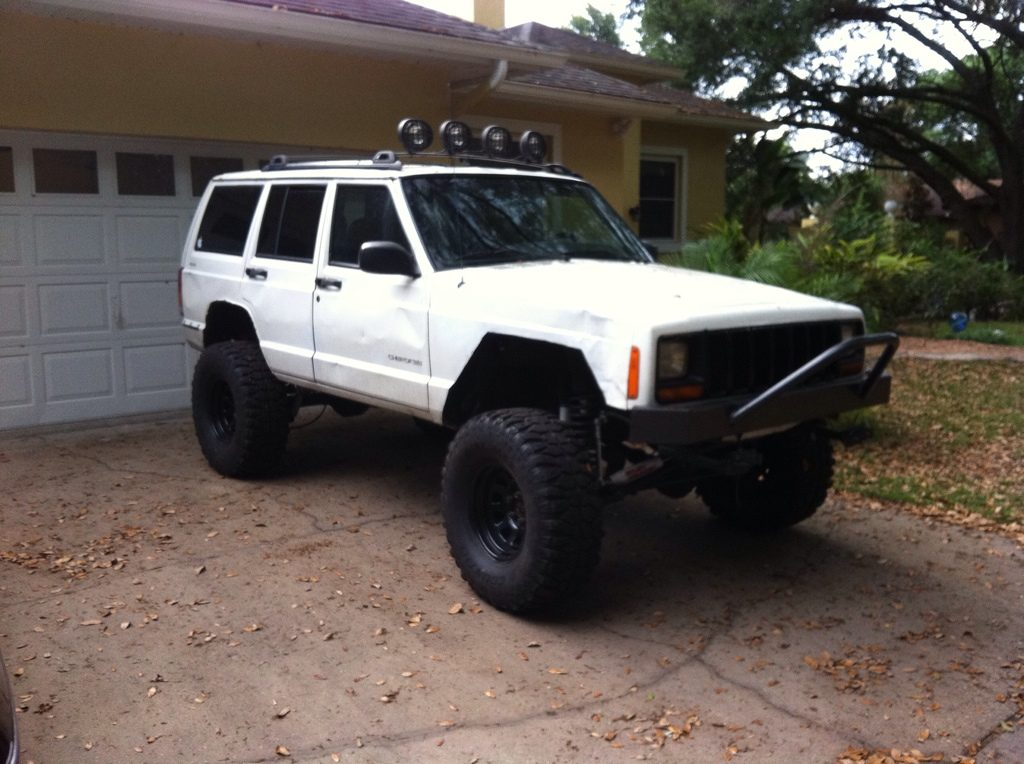 Cheap Off Road Cars - Jeep Cherokee Off-road