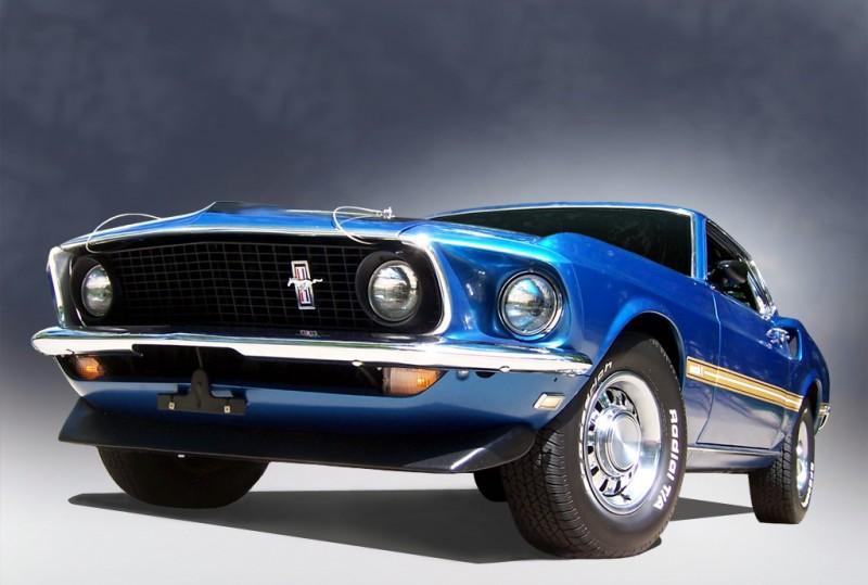 Highest Horsepower Engine Muscle Cars 3