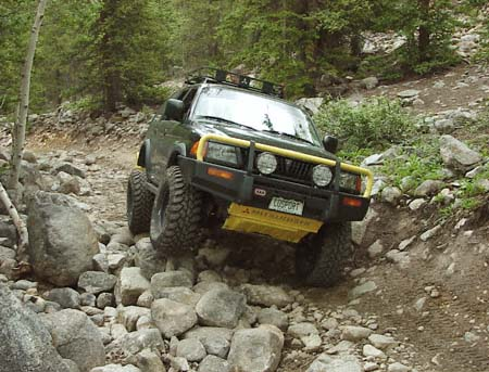 Cheap Off Road Cars - Montero Off Road