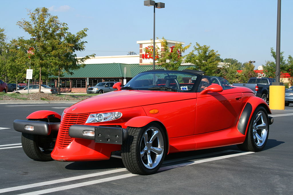 1024px 2008 10 05 Red Plymouth Prowler At South Square