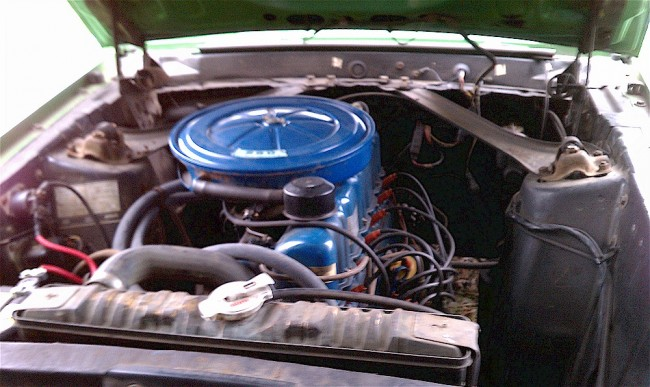Mustang 6 Cylinder Engines 2