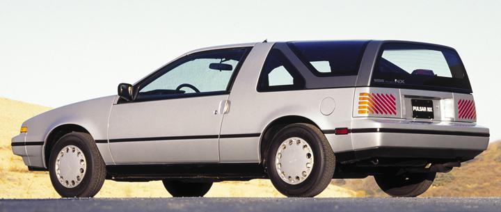 Weird 80s Cars - Nissan Pulsar